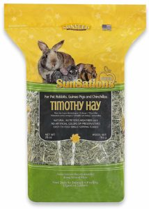 Timothy hay for chinchillas