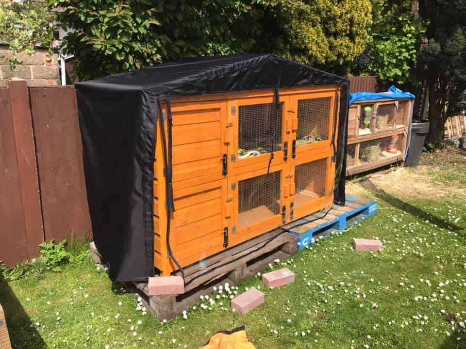 Outdoor Hutch Cover